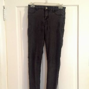 Calvin Klein Black/Charcoal Skinny Jeans/Leggings